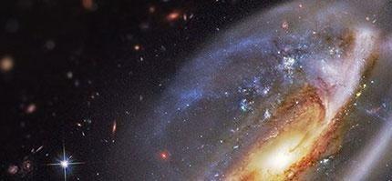 這就是震撼人心的浩瀚宇宙。你能想像縮小後看起來像什麼嗎?
