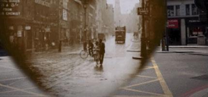 這名導驗拍的影片會讓你以為你穿越時空到了1924年的倫敦。我沒有想到會有這樣精采的效果!