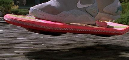 回到未來裡面的懸浮滑板