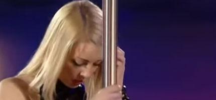 可能是我沒有見識...但是我從來沒有見過這麼不可思議的鋼管舞!