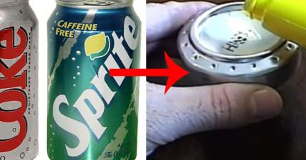 只要一個空汽水罐和一些基本材料,你就可以DIY出一個平時要價幾百塊的日常必需品!