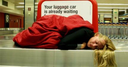 有了這個最新發明,以後你再也不用很不舒服地等待飛機起飛了!