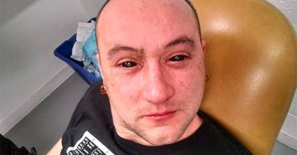 只要滴這個最新發明眼藥水在你的眼裡,你就可以擁有超人類的眼力!