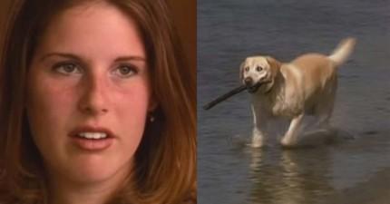 這隻雙眼全盲的狗狗原本差點被安樂死,但他的存活有天創造奇蹟拯救了一名15歲少女的性命!