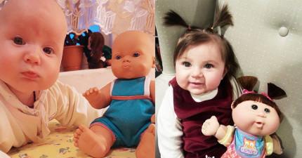 20個在玩具店裡面買到「失散多年雙胞胎」的小朋友。