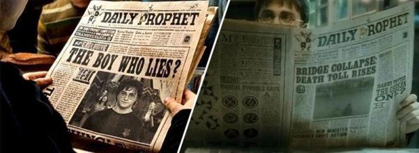 《哈利波特》驚傳隱藏版角色「神秘紅髮女巫」 連出現4集+《怪獸》關鍵藏《預言家日報》!