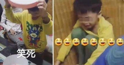 6歲娃慶生打開蛋糕盒「從天堂墜入地獄」!陰影指數爆表大哭「媽媽超壞」!(影片)