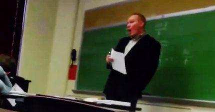 教授規定只要學生手機響了就要擴音讓全班聽...女學生電話響起:「這是婦產科」...教授秒崩潰:快掛掉!