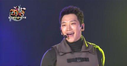 韓國天王Rain台北跨年表演,「神級舞技」想逼死台灣藝人!網友:台灣藝人躲起來好了