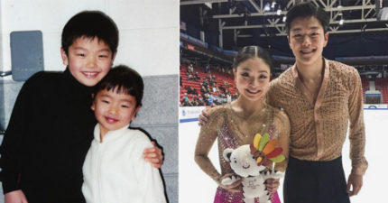 顏值高到讓大家「他們IG被追到爆」的奧運美國花式溜冰亞裔兄妹!粉絲:他們是刷刷鍋...