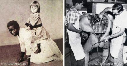 15張會佩服原來阿公阿嬤命超硬的「荒唐真實歷史」照!