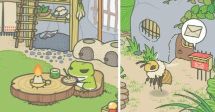最齊全《旅行青蛙》進階版教學:便當+道具「詳盡功能說明」,教你如何招待蝸牛、蜜蜂、烏龜!