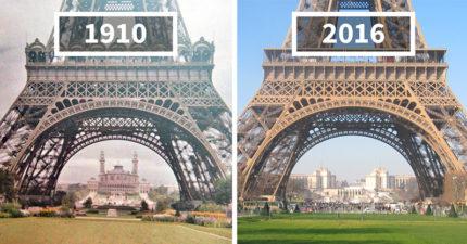 30張看到時間能改變很多東西的超美「世界進化」照!