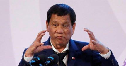 菲律賓總統杜特蒂在中菲商會中表示:我們可以變成「中華民國的一省」