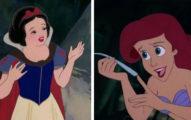 迪士尼公主全都「缺少一個身體部位」沒人發現!分辨好人壞人看一眼就知道