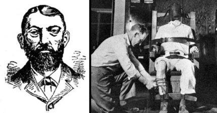 歷史上首位電椅死刑犯!「被電17秒心臟還在跳」背上藍色大火狂燒...醫生驚呼:他還活著!快通電!
