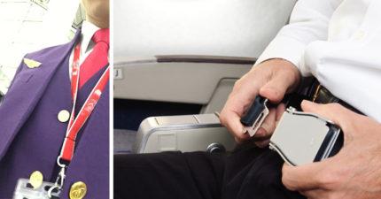 空少起飛前敬業解說「最新急救法則」:請繫妥安全X以策安全!機上大媽全傻了...