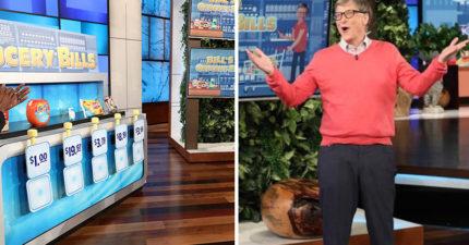 比爾蓋茲身家2.7兆竟不知洗衣球多少錢,上《艾倫秀》被網友酸慘:你以為洗衣服很便宜?