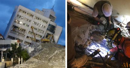花蓮雲翠大樓倒塌原因曝光,「14人住進漂亮旅店0人生還」建商的「隨隨便便」讓人枉死!