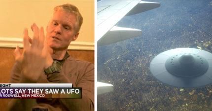 外星人入侵地球?2飛行員37000呎高空目睹「幽浮飛過」,美航空總署公布錄音檔了!