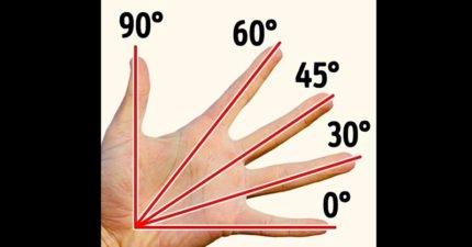 用手可以量出角度!20個看過一遍此生都不會遺忘的「不可思議人類現象」,唾液效果比止痛藥高6倍
