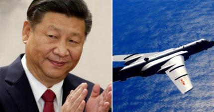 共軍又飛來挑釁!台空軍:中華民國空軍廣播...遭對岸搶話:你真牛逼哦?