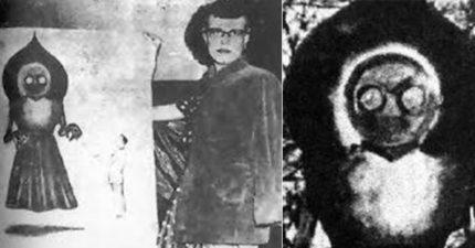 66年前「3米黑桃外星物」降臨地球 散發惡臭目擊民眾全麻痺嘔吐