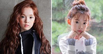 韓國9歲「精靈系蘿莉模特兒」太逆天 空靈氣質+大長腿超犯規!