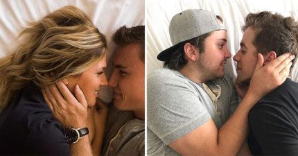 情侶朋友拍訂婚照 他們決定「重製惡搞版」閃好閃滿!(12張)