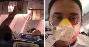 睡夢中忽然噴鼻血...旅客「搶氧氣罩求生」 闖禍機長低頭認錯:忘記開開關了...