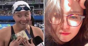 奧運「洪荒之力妹」現在長不一樣了 花3年變「泳界劉亦菲」開口更夢幻!