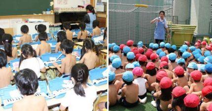 日本「不穿衣服幼稚園」提倡回歸原始 網看完卻歪樓:我還在等老師一起跟進(威