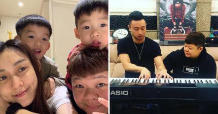 小亨堡首次唱歌「超反差美聲」驚豔網友 連謝金燕都忍不住「親自要人」:來我演唱會!
