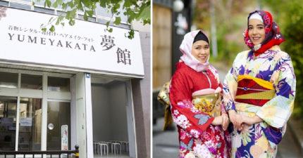 日本推出讓穆斯林女性也能「美美穿和服的夢幻頭巾」 70款任選完美搭配讓其他女生都羨慕了!