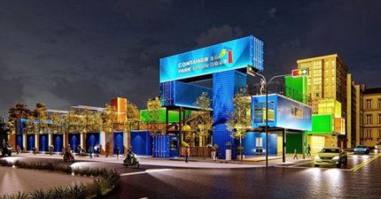 假日沒地方遛小孩?台南新景點「貨櫃公園」4月開幕 「園區概念圖」讓網興奮:衝了