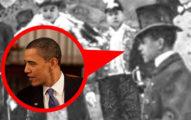 15張證明「時空旅行絕對存在」的名人照 二戰的查寧塔圖更性感!