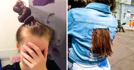 20張「長髮女孩不想讓你知道」的超崩潰瞬間 每次用梳子...都是人生最大難關