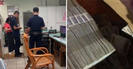 外送員竟外撿到「157萬現金」 他堅持掉頭卻意外「救了一間公司」!