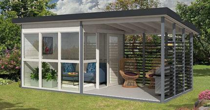亞馬遜開賣「組合式花園小屋」只要8小時就完工 網看「超俗售價」讚嘆:很可以!