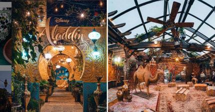 超浮誇網美系《阿拉丁》主題餐廳 完美重現「奇幻小鎮」粉絲推爆:超想喝「魔毯歷險」!