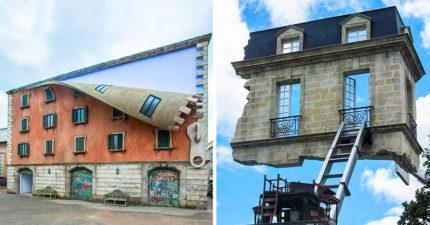 20個比電影特效還誇張的「奇葩建築設計」 通往「天堂的階梯」真實存在!