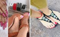 外國妹迷上做「腳趾甲光療」!從基本款不停進化...最後的「迅猛龍腳爪」太扯了