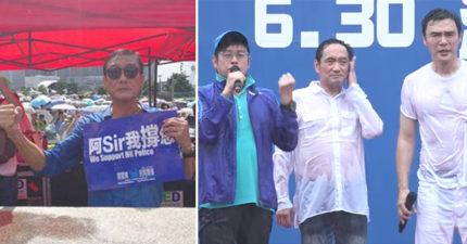 香港「反送中」警察行為被國際狠批 卻驚見「巨星力挺港警」粉絲心碎:永不支持