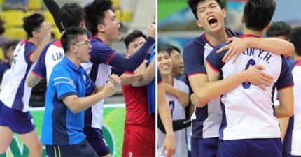 破台灣排球記錄!中華男排拿下「U23冠軍」 四強賽扳倒「不敗日本」是關鍵