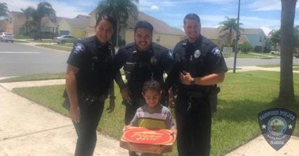 5歲童「打911叫披薩」被當惡作劇 幾分鐘後「3個警察來敲門」網讚爆:人民保姆!