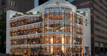 4層樓高!「全球最大星巴克」即將開幕 內部「時代感工業式裝潢」比博物館更美