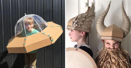 神手媽用「超普通瓦楞紙」做出好萊塢級裝飾 低成本質感高還附教學影片