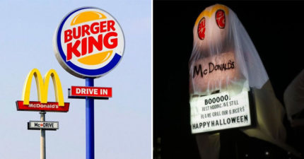 漢堡王「萬聖節開大絕」笑翻民眾 直接扮成「競爭對手」還嗆:期待你回擊!