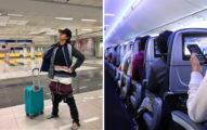 她因「行李超重」秒變木乃伊!急把「2.5公斤衣服」穿身上 3萬網友讚爆:學起來