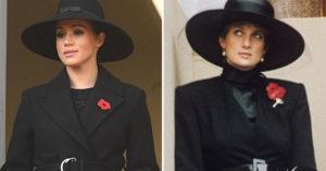 梅根超有心「致敬黛安娜王妃」的穿搭曝光 她連「最重要細節」也100%還原!